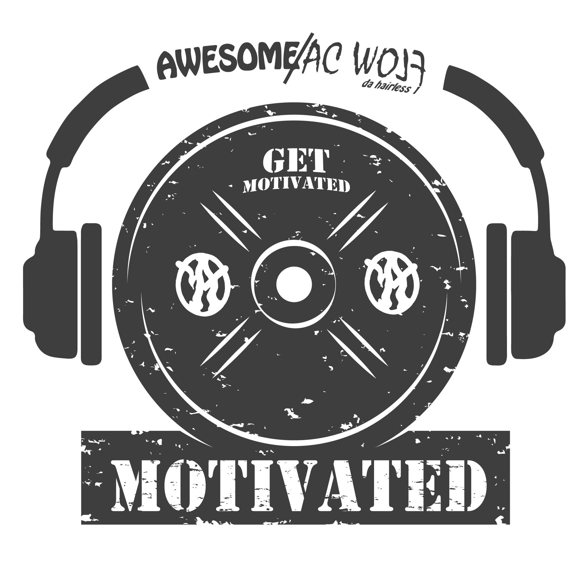 Awesome/AC Wolf Get Motivated logo